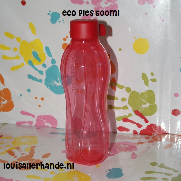 Welp Tupperware eco fles 500ml rood - Louis Allerhande MW-95